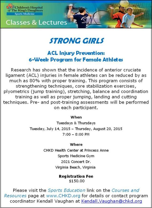 ACL Program 2015