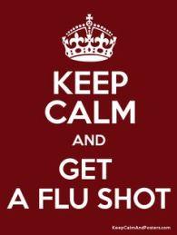 Keep Calm Flu Shot