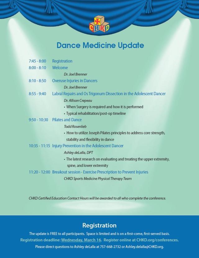 Dance Med Update Flyer 2