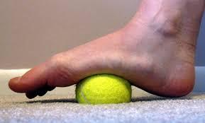 Tennis Ball Roll